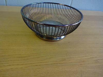 Vintage Retro 1960s Viners Silver Plated Fruit Bowl