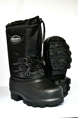 Mens Snowmobile boots lightweight EVA Snow Boots