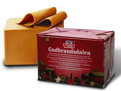 GJETOST TWO X 250g Brunost Brown Caramel Whey Cheese Norway