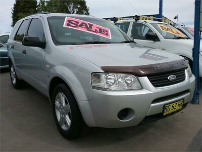 2007 Ford Territory SY TS Silver Automatic 4sp A Wagon