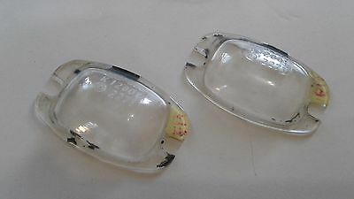 1964-1965-1966-1967-1968 Mercedes Benz W110 Series License Plate Light Lens-US