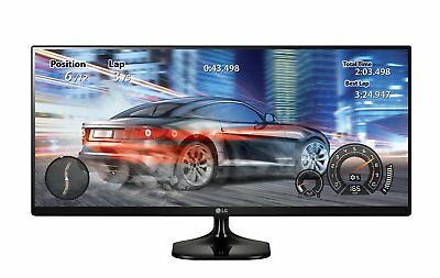 """LG Electronics 25"""" Ultra Wide IPS Monitor with Screen Split 2.0 & HDMI, Black"""