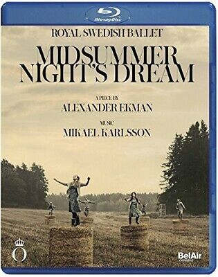 Midsummer Night's Dream (2017, DVD NUEVO) (REGION 1)