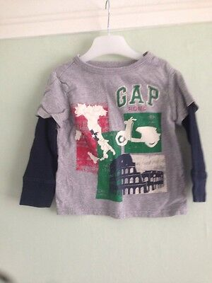 Baby Gap Long Sleeve Top Size 18-24 Months