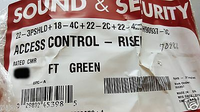 Southwire/Tappan H90937-3C Riser Composite Access/Door Control Cable Green/50ft
