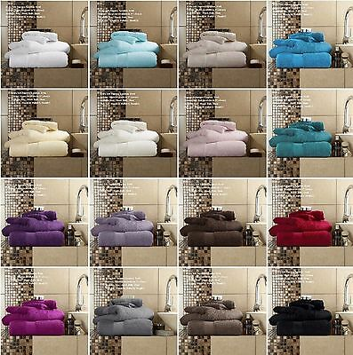 Luxury Towels 700 GSM 100% Egyptian Cotton Extra Softness and Absorbency Miami