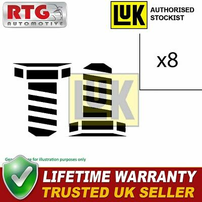 LUK Flywheel Bolt Screw Set For Citroen Fiat Ford Land Rover Peugeot Volvo