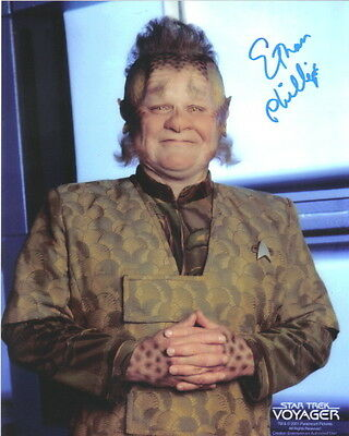 Ethan Phillips as Neelix on Star Trek Voyager 8 x 10 Photo Autograph #1
