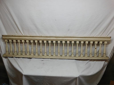Antique Victorian Style Stair Railing - C. 1890 Fir Architectural Salvage