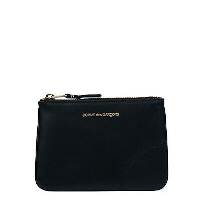 Comme des Garcons Classic Leather Small Pouch SA8100 Black
