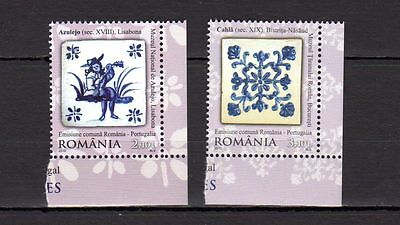 Romania 2010 Diplomatic Relations with Portugal MNH