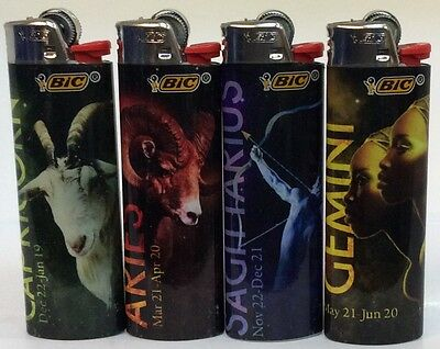 4 Bic Lighters Regular Size Disposable (6)