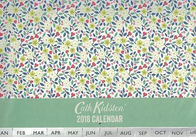 Cath Kidston 2018 Littlemore Flowers Wall Calendar (NEW & Sealed)