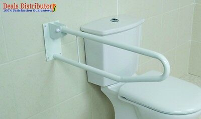 Safety Support Rail Toilet Bathroom Disabled Handle Disability Health Care New
