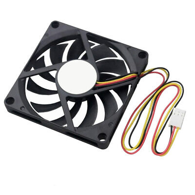 8010 80x80x10mm Axial Fan - 12V 24V DC - 2/3/4 Pin Computer Cooler