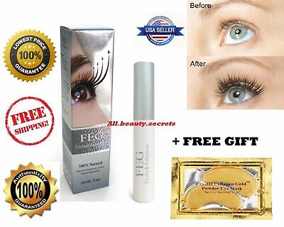 FEG EyeLash Enhancer EyeLash Rapid Growth AUTHENTIC Hologram Serum Liquid +Gift