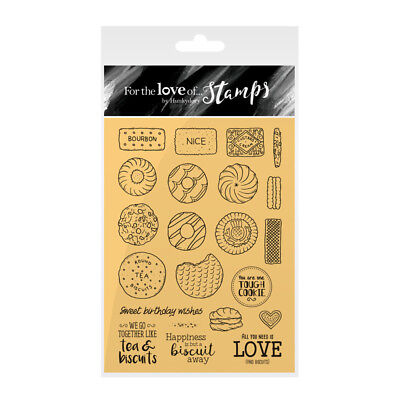 Hunkydory Crafts Biscuits Galore! For the Love of Stamps Stamp Set FTLS131