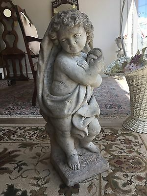 Beautiful Antique Concrete Statue