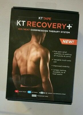 Kt Tape - Kt Recovery + Ice/heat Compression Therapy System New