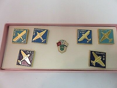 Vintage Soviet Pins Russian Badge AIR FORCE  USSR  LOT