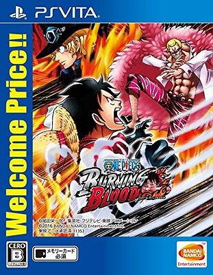 【PSvita】ONE PIECE BURNING BLOOD Welcome Price!! from JAPAN F/S New!