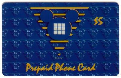 $5.$10.$20. Public Edition (Mickey Ears Logo) Complete Set of 3 Phone Card