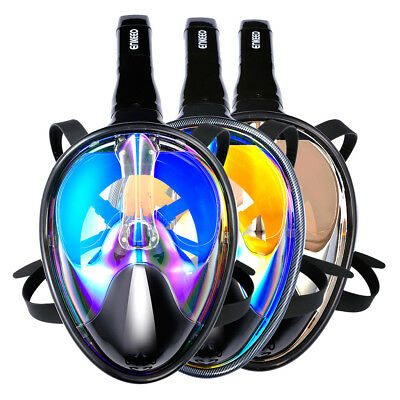 Full Face Snorkeling Snorkel Mask Swimming Diving Goggles Breather Pipe fr GoPro