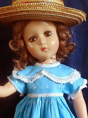 "TOO CUTE!!! Vintage 1930's ""NANCY LEE"" 17"" Composition Doll by Arranbee"