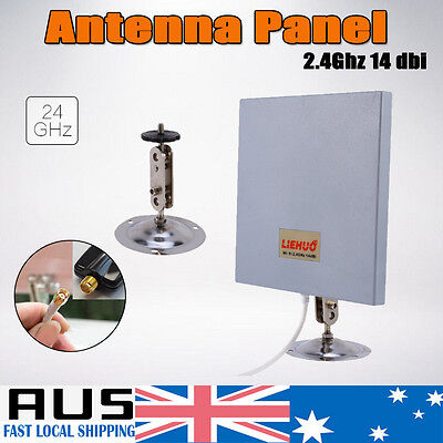 Antenna Panel 2.4Ghz 14dbi High Gain WiFi Wlan Extender Amplifier Directional