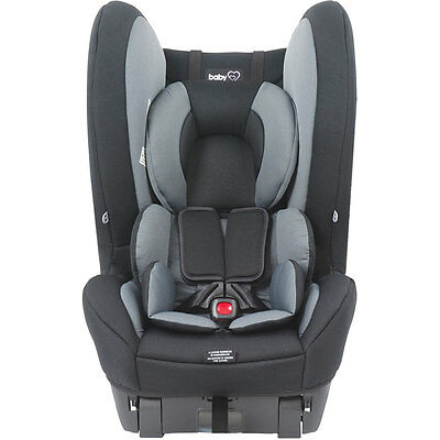 Babylove Cosmic II Convertible Car Seat - Black - NEW
