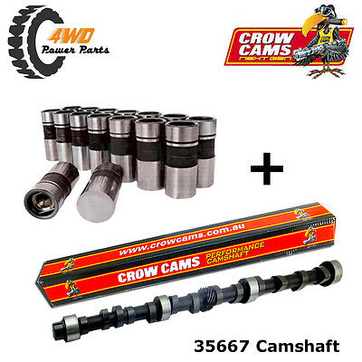35667 Crow Cams Holden 6 Cyl Commodore Torana Performance Camshaft & Lifters