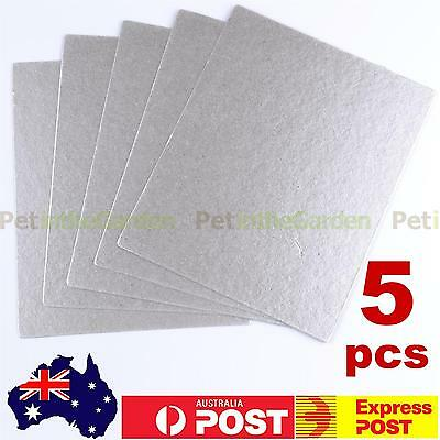 5x Microwave Oven Mica Plate Sheet Thick Replace Part 150 x 120mm