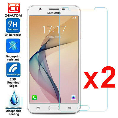 2Pcs Tempered Glass Screen Protector Film For Samsung Galaxy J1 2 3 5 7 Prime