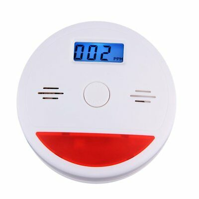 Smoke Alarm/LCD CO Carbon Monoxide Detector Poisoning Gas Warning Sensor LO