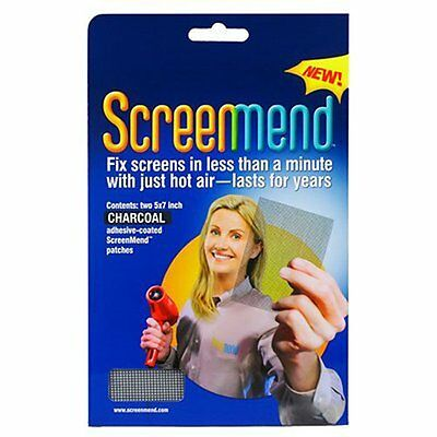 Screenmend Window and Door Screen DIY Repair Charcoal Color