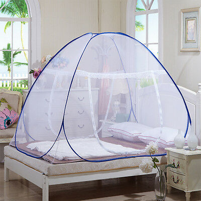Automatic Mosquito Insect Net Portable Canopies Folding Bed Netting Camping Tent
