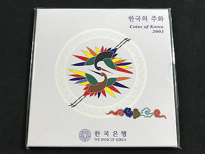 2003 South Korea - Bank Of Korea Original Mint Coin Set