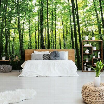 vlies fototapete fototapeten tapeten natur wald baum holz blatt 14n186v8 eur 31 10 picclick de. Black Bedroom Furniture Sets. Home Design Ideas