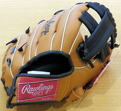 Rawlings RBG185 Players Baseball Left Hand Glove For Right Handed Thrower 8.5""