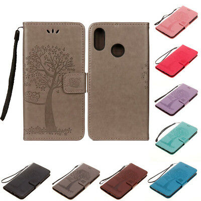 For Huawei P20 Pro P8 P9 Lite 2017 PU Leather Case Magnetic Flip Wallet Cover