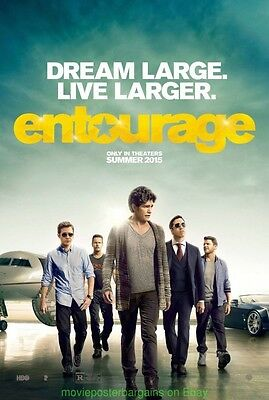 ENTOURAGE MOVIE POSTER Original DS 27x40 Final Rated Style Jeremy Piven