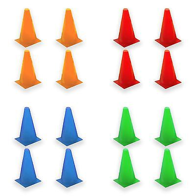 Soccer Football Jogging Agility Fitness Training Exercise Marking Cones 17.5cm