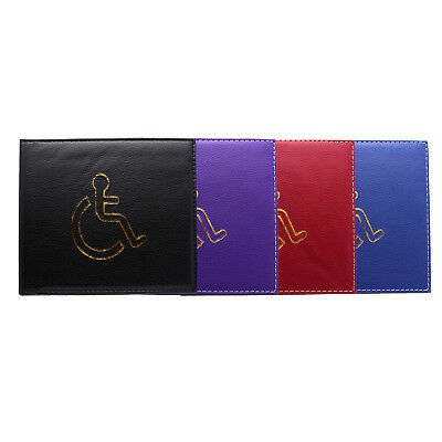 Disabled Badge Holder / Case / Cover - Blue Badge Parking Permit Display Cover