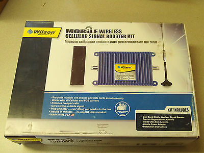 Wilson Mobile Wireless Dual Band, Multiple Device Cellular Signal Booster Kit
