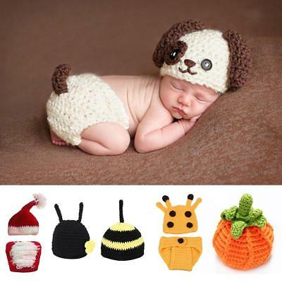 a582f13cf389 NEWBORN BABY ANIMAL Costume Set Baby Photo Photography Prop Outfits ...