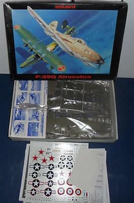 1/48 - Eduard - P-39Q Airacobra - German WWI Fighter - 2nd Hand Kit complete