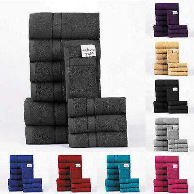10Pc Towel Bale Set 100% Egyptian Cotton Premium Luxury Range Thirsty Soft
