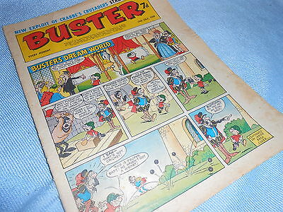 Vintage CLASSIC UK COMIC - BUSTER - 19th July 1969