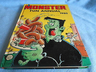Vintage UK Annual - MONSTER FUN ANNUAL - 1980