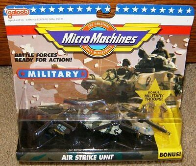 Micro Machines Air Strike Unit #9 Military Collection